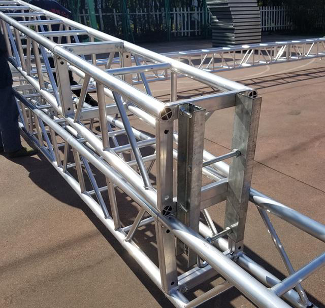 Aluminum alloy truss light frame installation 12