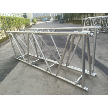 Aluminum Spigot Folding Truss 400mm x 600mm heavy duty lighting truss