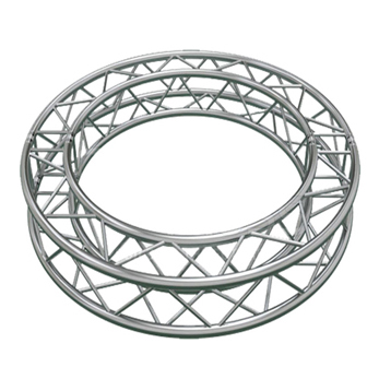 Aluminum circular lighting truss