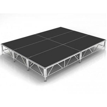 Portable Stage Platform is made of aluminum alloy 6082-T6 material