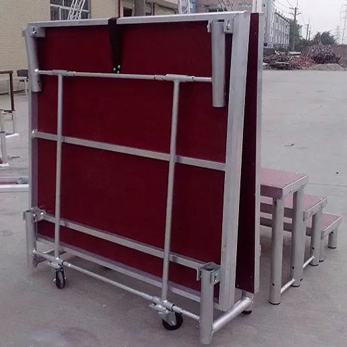 Mobile Folding Stage Aluminium