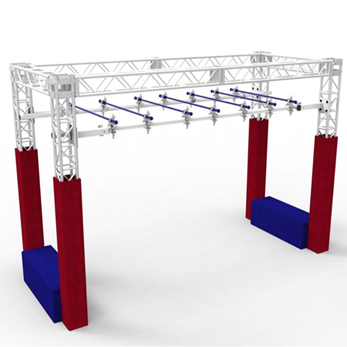 Aluminum Truss for Gym and Fitness Facilities