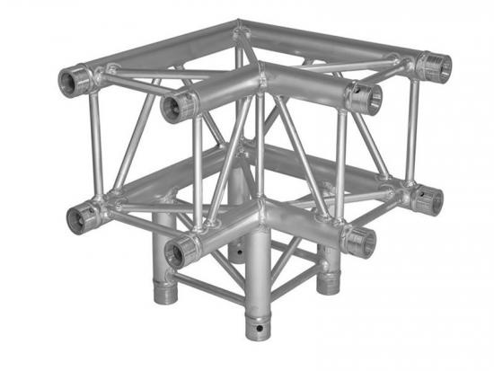 Vertical Down 3 Way Square Truss Corner
